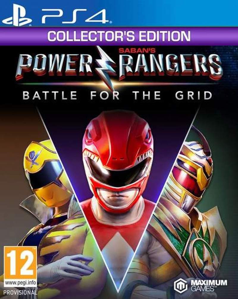 PS4 Power Rangers - Battle For The Grid - Collectors Edition