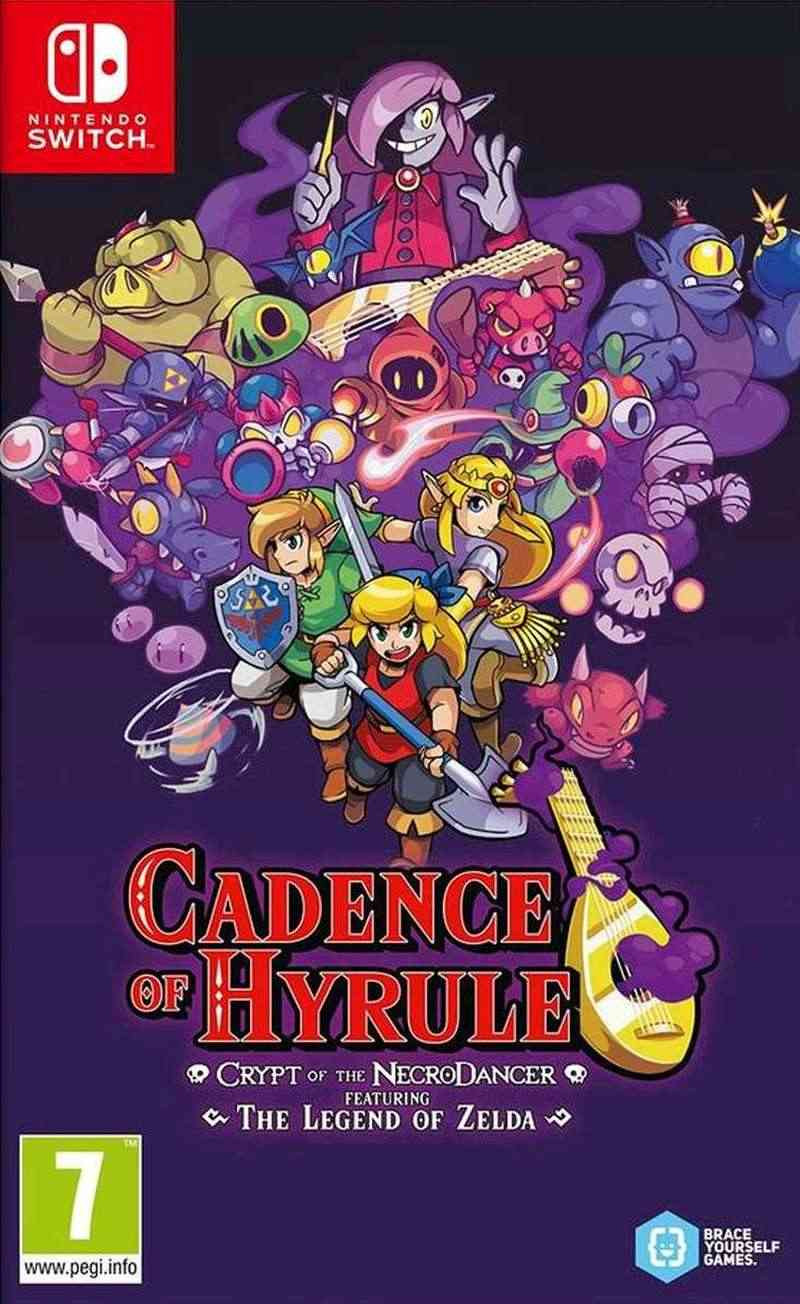 SWITCH Cadence of Hyrule - Crypt of the NecroDancer featuring The Legend of Zelda