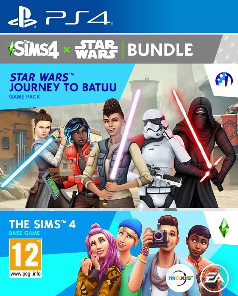 PS4 The Sims 4 Star Wars - Journey to Batuu