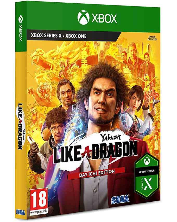 XBOX ONE Yakuza - Like a Dragon - Day Ichi Edition