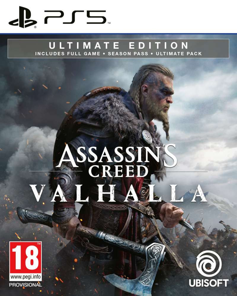 PS5 Assassins Creed Valhalla - Ultimate Edition