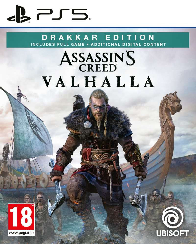 PS5 Assassins Creed Valhalla - Drakkar Special Day1 Edition