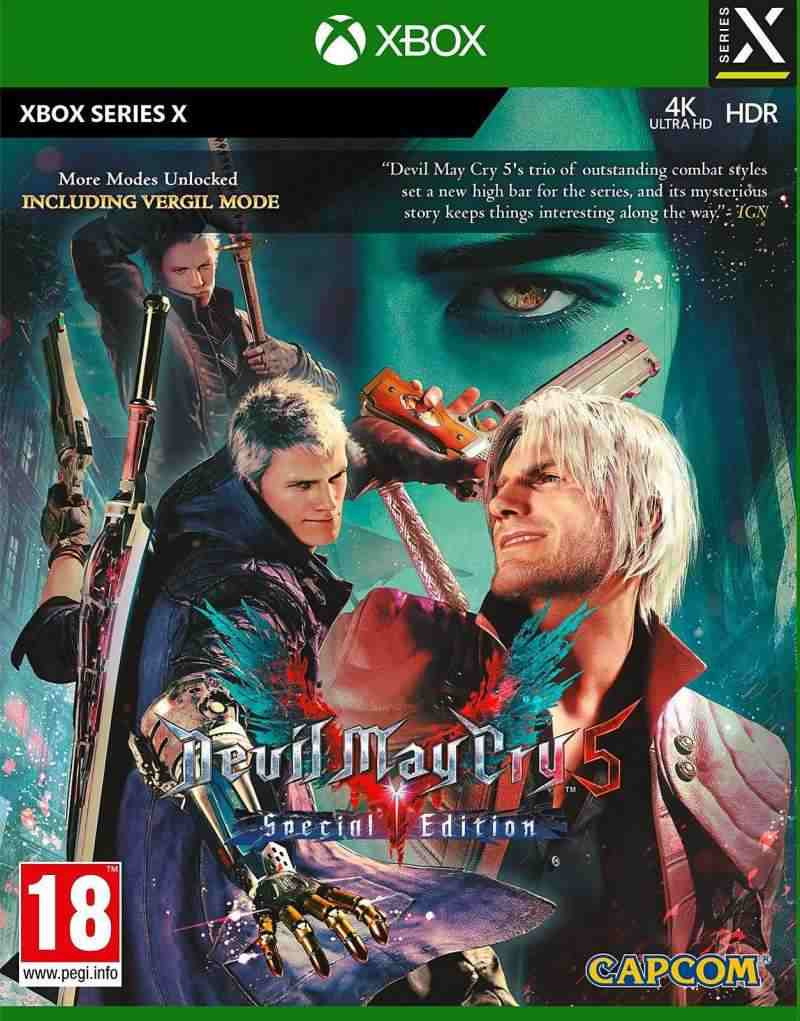 XBSX Devil May Cry 5 - Special Edition