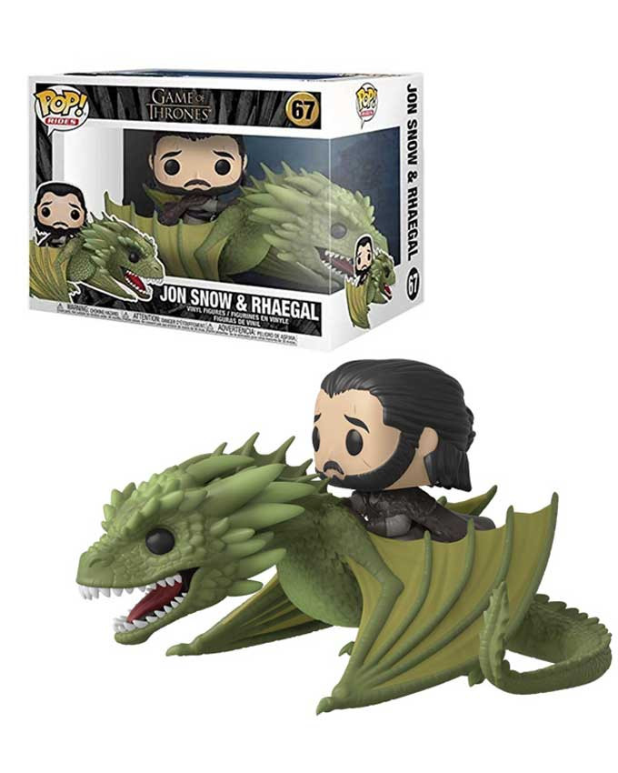 Figura POP! GOT - Jon Snow with Rhaegal