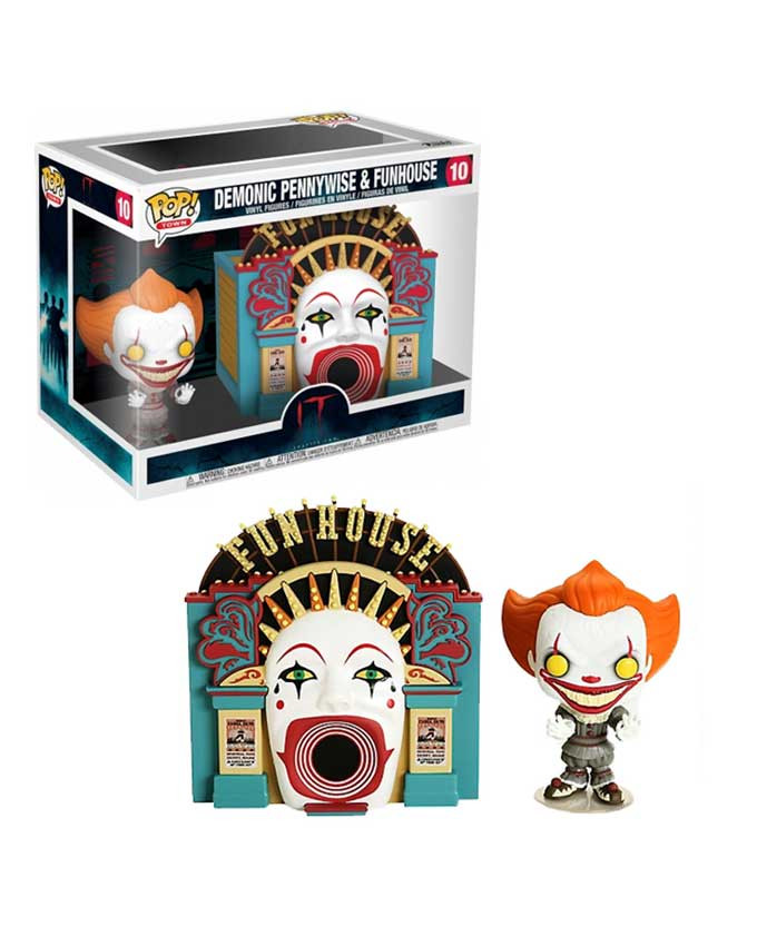 Figura POP! It 2 - Town - Demonic Pennywise with Funhouse