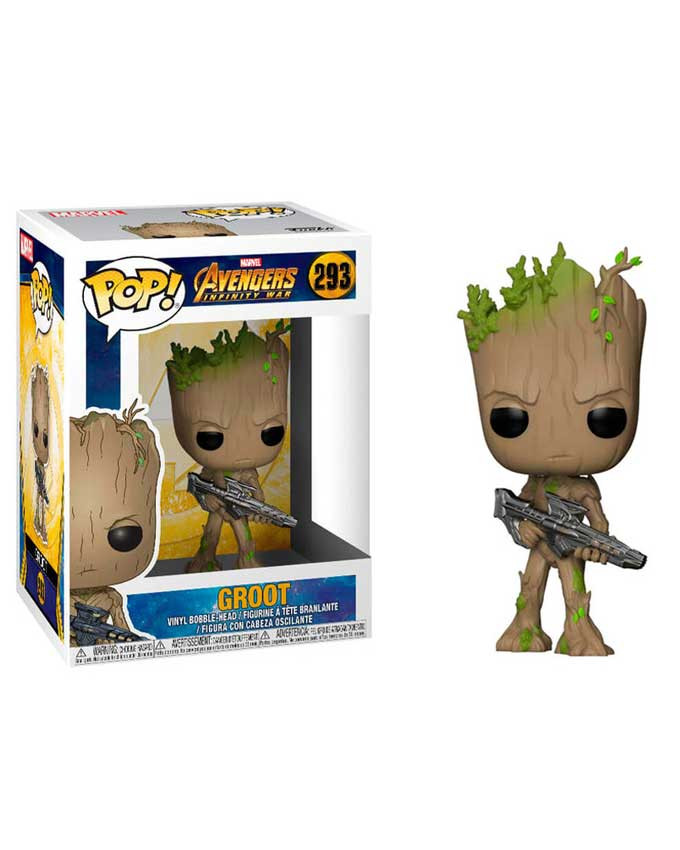 Figura POP! Marvel Avengers Infinity War Booble - Groot