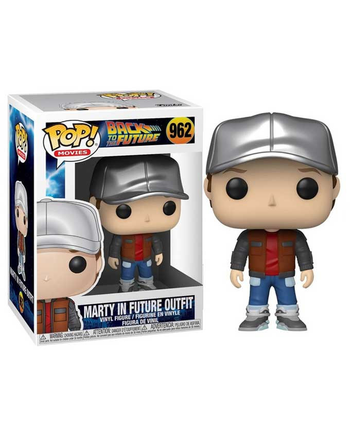 Figura POP! Back to the Future - Marty in Future Outfit