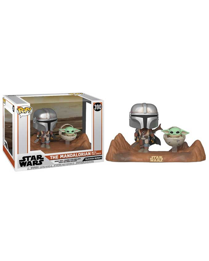 Figura POP! Star Wars Mandalorian - The Mandalorian and The Child (Baby Yoda)