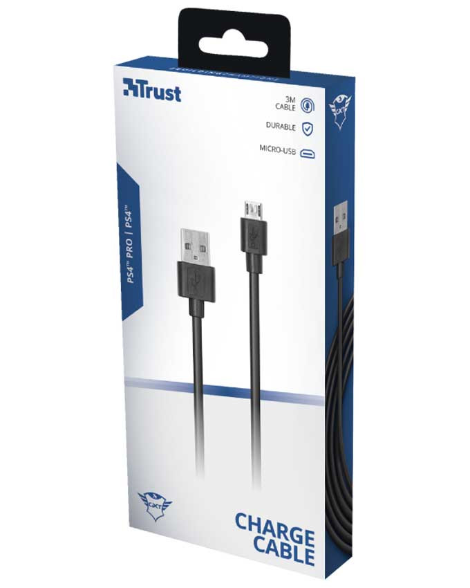 Kabl Trust GXT 224P Micro USB Charge and Play Cable za PS4