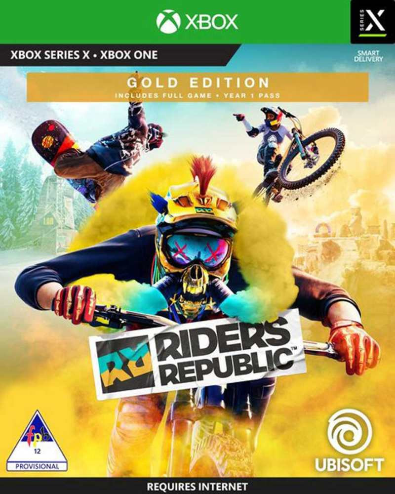 XBOX ONE Riders Republic - Gold Edition