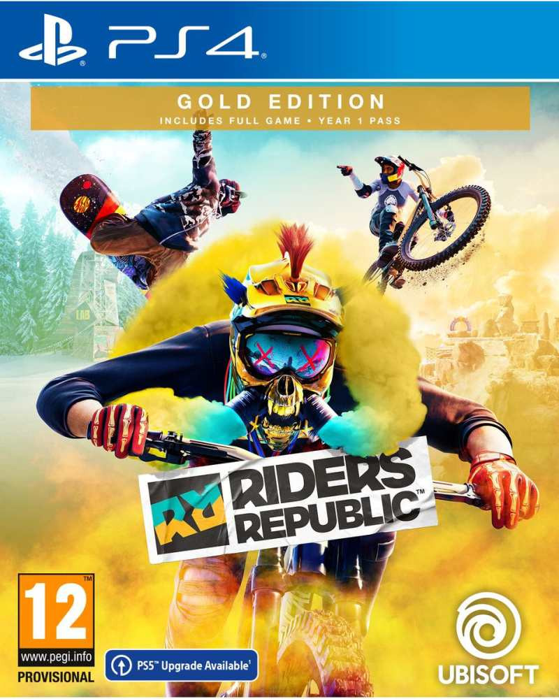 PS4 Riders Republic - Gold Edition