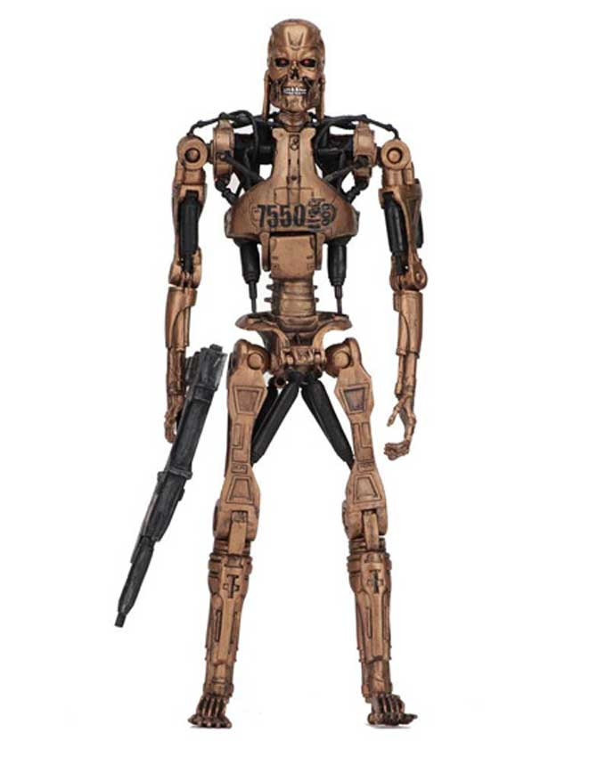 Figura Terminator 2 Metal Mash Endoskeleton (Kenner Tribute) 18cm