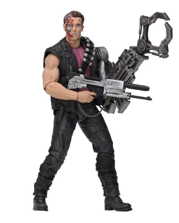 Figura Terminator 2 Power Arm T-800 (Kenner Tribute) 18cm