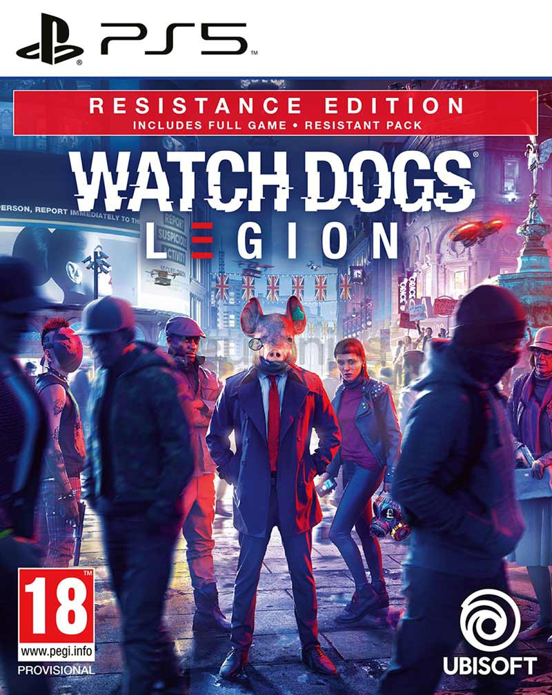 PS5 Watch Dogs Legion - Resistance Edition