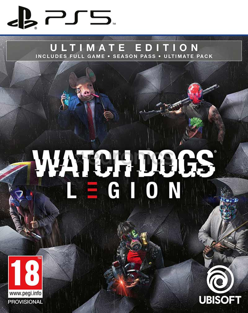 PS5 Watch Dogs Legion - Ultimate Edition