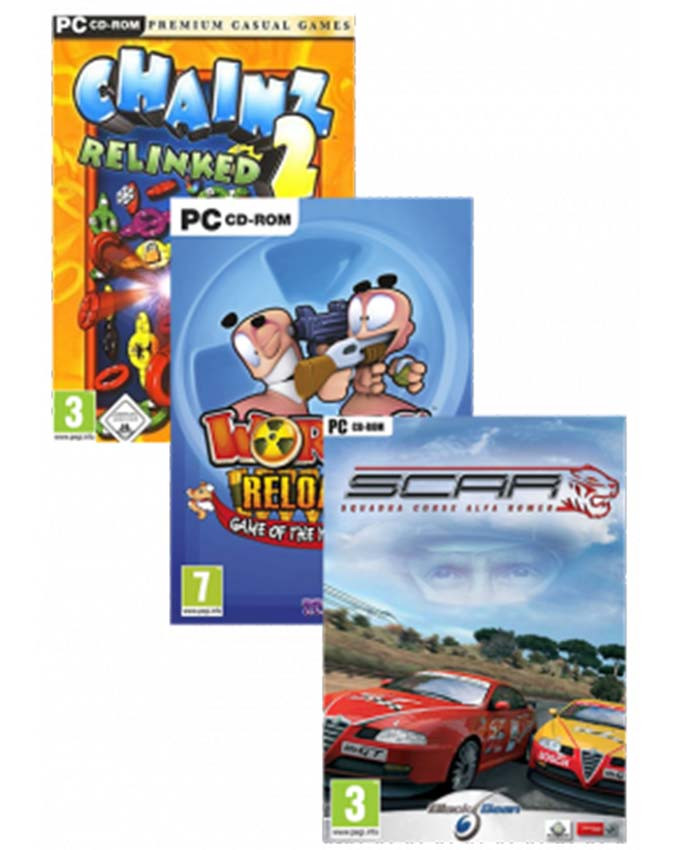 PCG A14 paket (Worms Reloaded, Chainz 2, SCAR)