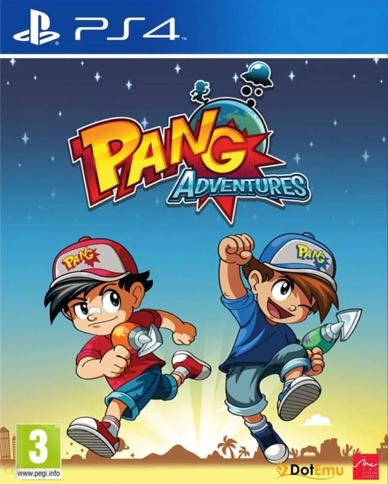 PS4 Pang Adventures - Buster Edition