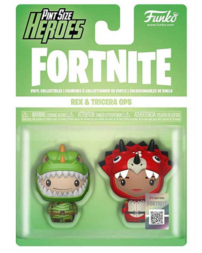 Figura POP! Fortnite - Pint Size Heroes Rex And Tricera Ops