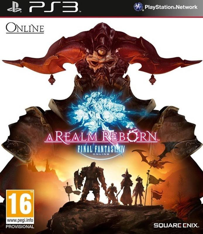 PS3 A Realm Reborn Final Fantasy XIV Online
