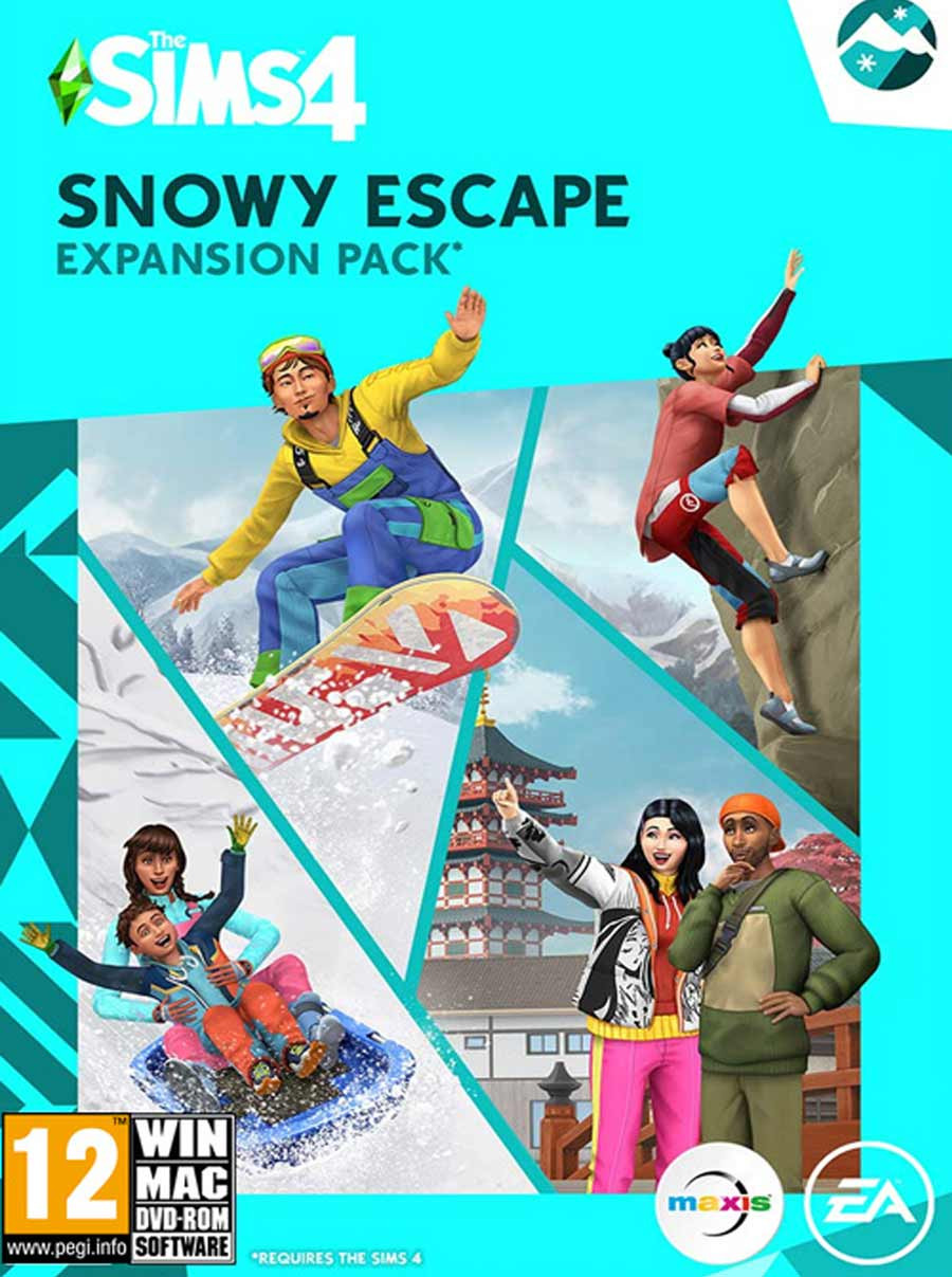 PCG The Sims 4 Snowy Escape Expansion