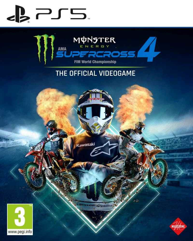 PS5 Monster Energy Supercross - The Official Videogame 4