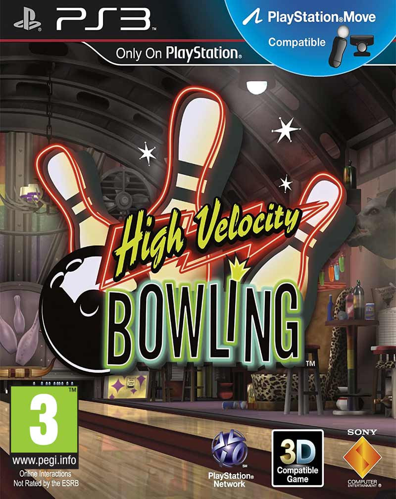 PS3 High Velocity Bowling