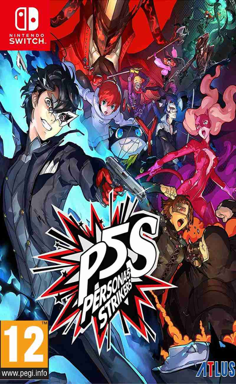 SWITCH Persona 5 Strikers - Limited Edition