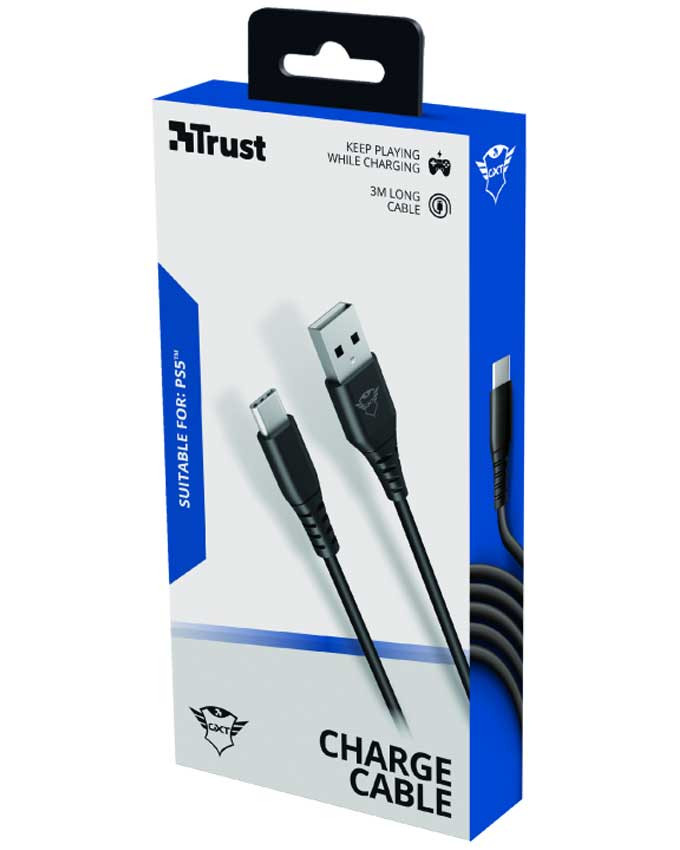 Kabl Trust GXT 226 Play And Charge Cable 3m PS5