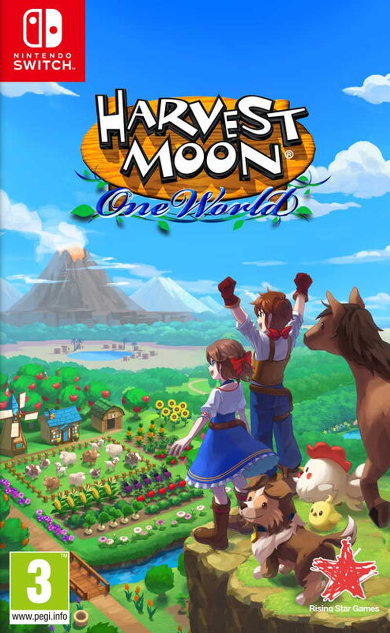 SWITCH Harvest Moon - One World
