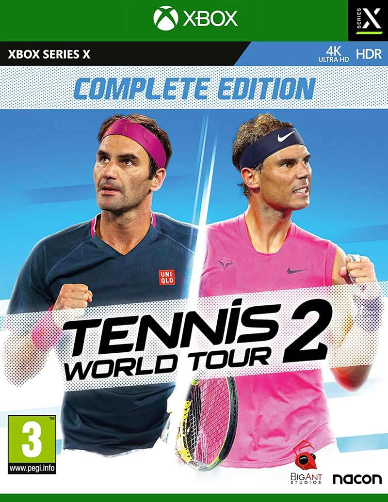 XBSX Tennis World Tour 2 - Complete Edition