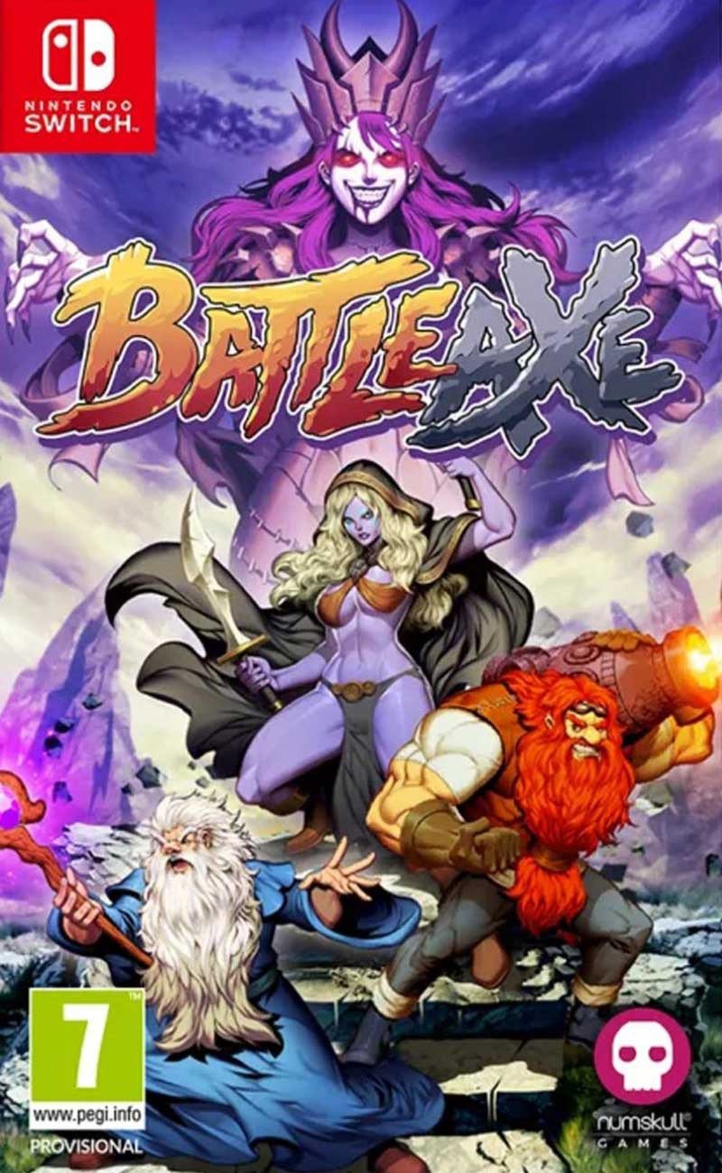 SWITCH Battle Axe - Badge Collectors Edition