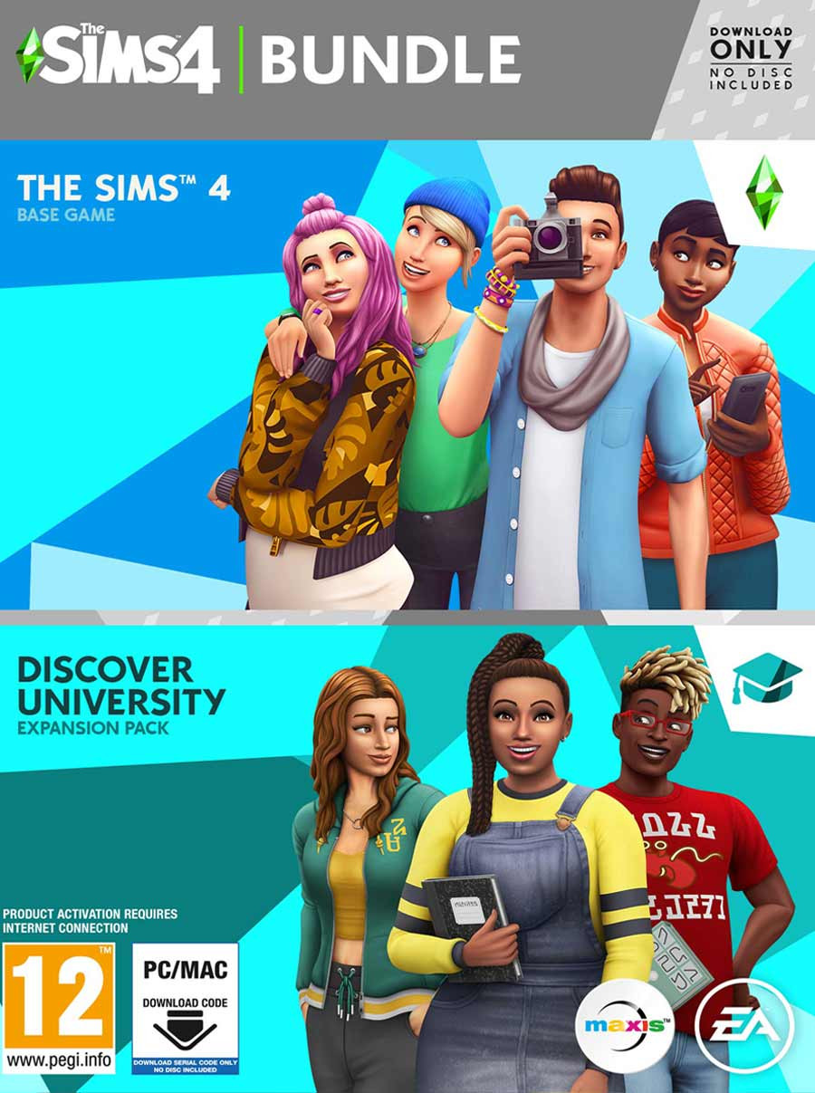 PCG The Sims 4 and Discover University
