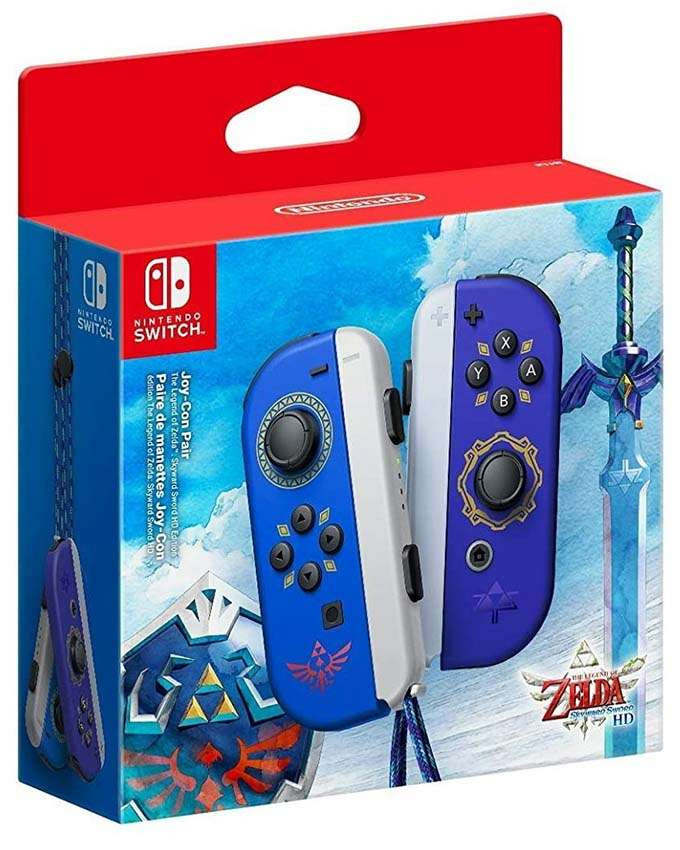 Gamepad Nintendo SWITCH Joy-Con par - Zelda Skyward Sword