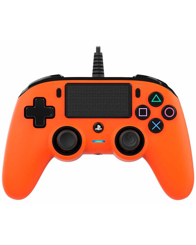 Gamepad Nacon PS4 Wired Compact Orange