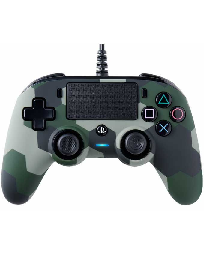 Gamepad Nacon PS4 Wired Compact Camo Green