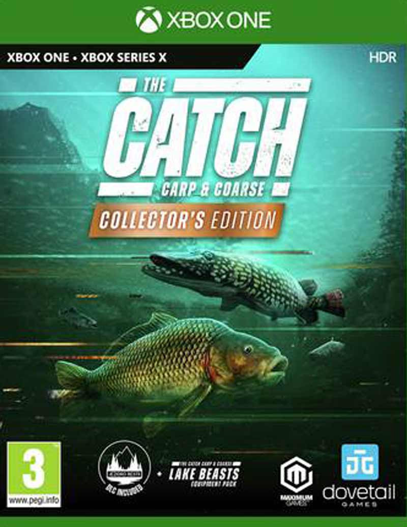 XBOX ONE The Catch - Carp And Coarse - Collectors Edition