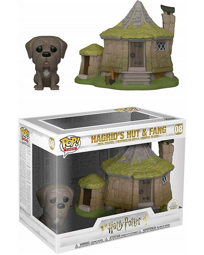 Figura POP! Harry Potter Town - Hagrids Hut With Fang