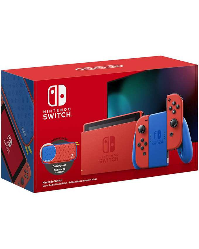Konzola Nintendo SWITCH Mario Red and Blue Special Edition (Red Joy-Con)