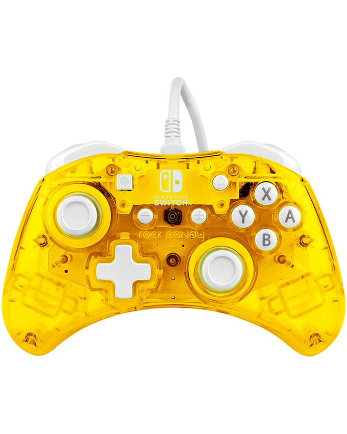 Gamepad PDP Nintendo Switch Wired Controller Rock Candy Mini Pineapple-Pop