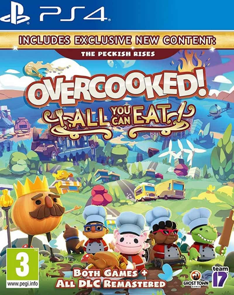 PS4 Overcooked All You Can Eat