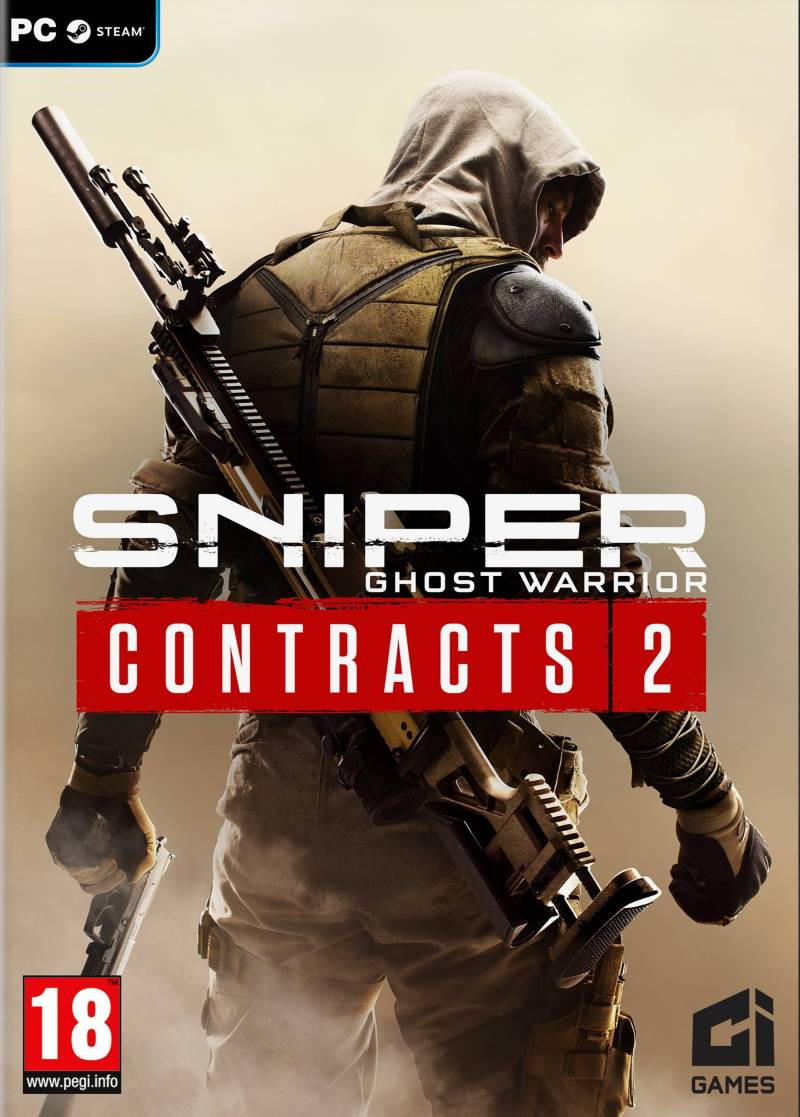 PCG Sniper Ghost Warrior Contracts 2 (code in the box)