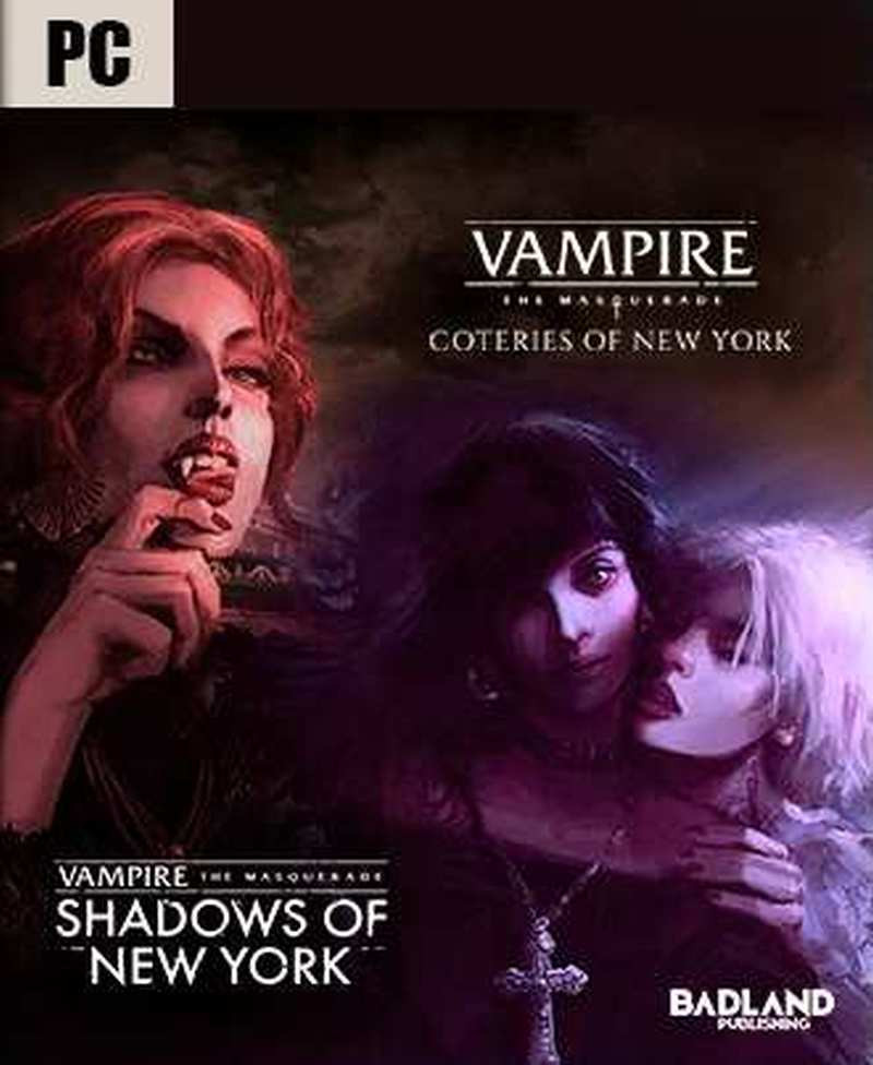 PCG Vampire The Masquerade - Coteries of New York and Shadows of New York
