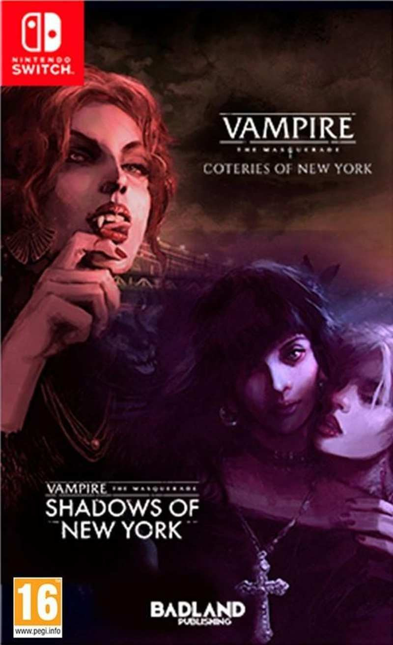 SWITCH Vampire The Masquerade - Coteries of New York and Shadows of New York