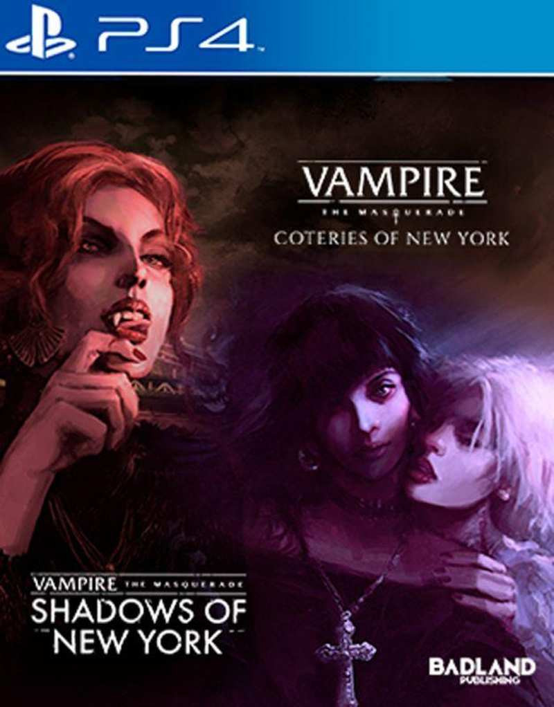 PS4 Vampire The Masquerade - Coteries of New York and Shadows of New York