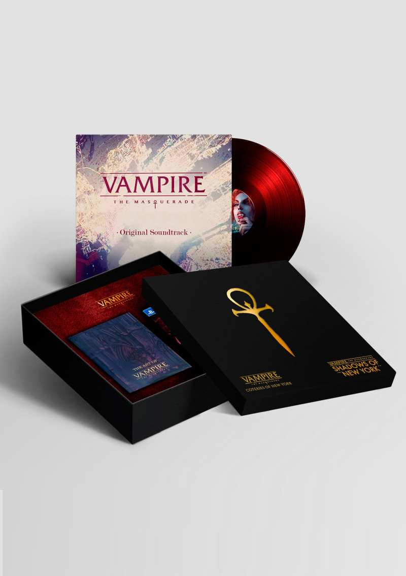 PS4 Vampire The Masquerade - Coteries of New York and Shadows of New York - Collectors Edition