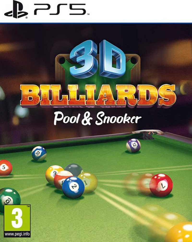 PS5 3D Billiards - Pool And Snooker
