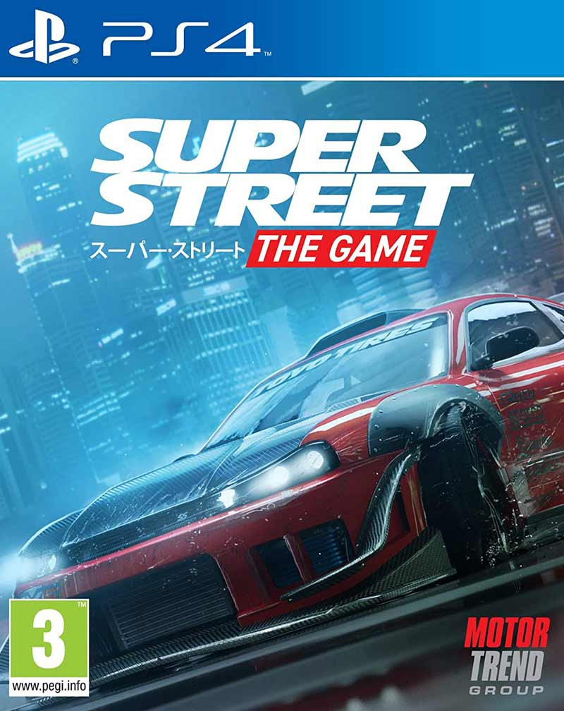 PS4 Super Street - The Game