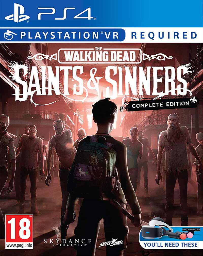 PS4 The Walking Dead - Saints and Sinners - Complete edition VR