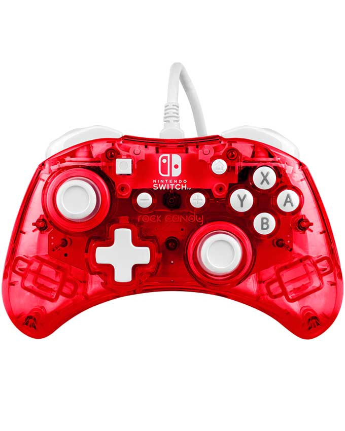 Gamepad PDP Nintendo Switch Wired Controller Rock Candy Mini Stormin Cherry