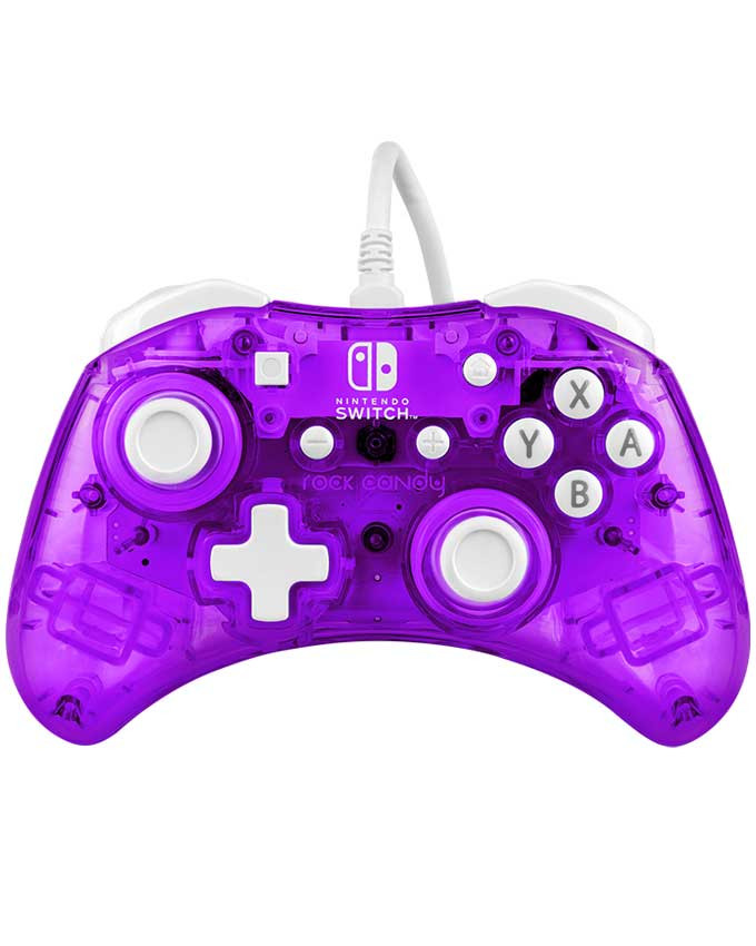 Gamepad PDP Nintendo Switch Wired Controller Rock Candy Mini Cosmo Berry